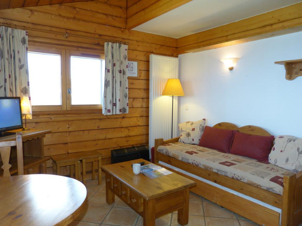Location au ski Studio 2 personnes (B63) - La Residence Les Hauts Bois - La Plagne - Table basse