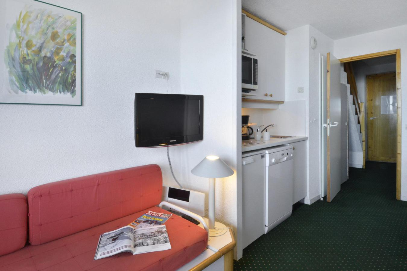 Location au ski Appartement 3 pièces 6 personnes (515) - La Residence Licorne - La Plagne - Table