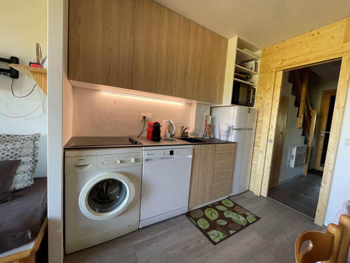 Location au ski Appartement duplex 2 pièces 5 personnes (809) - La Residence Licorne - La Plagne - Canapé