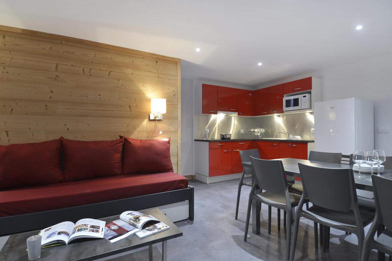 Location au ski Appartement 4 pièces 8 personnes (809) - La Residence St Jacques - La Plagne