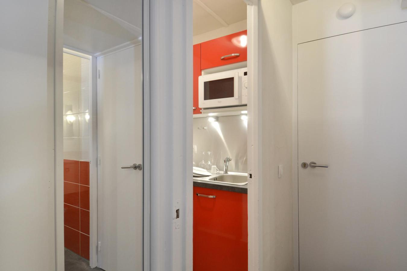 Location au ski Studio 4 personnes (712) - La Residence St Jacques - La Plagne