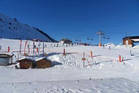 Location au ski Appartement 2 pièces cabine 8 personnes (A2055) - Residence Aime 2000 - Le Diamant - La Plagne - Lits superposés