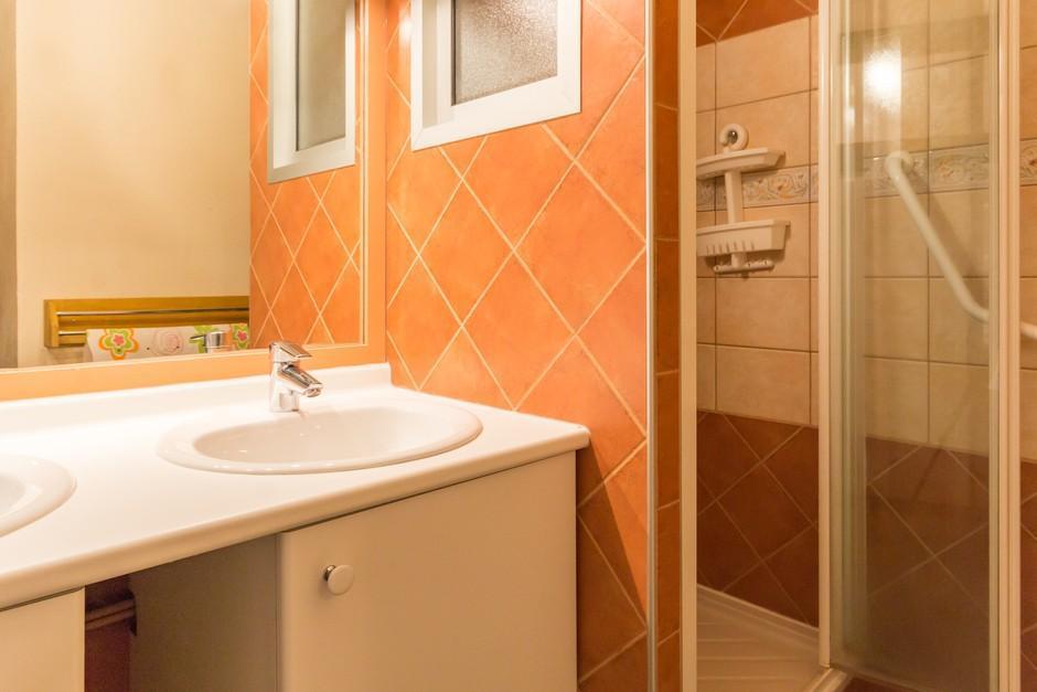 Location au ski Appartement 2 pièces cabine 8 personnes (A2055) - Residence Aime 2000 - Le Diamant - La Plagne - Salle de bains