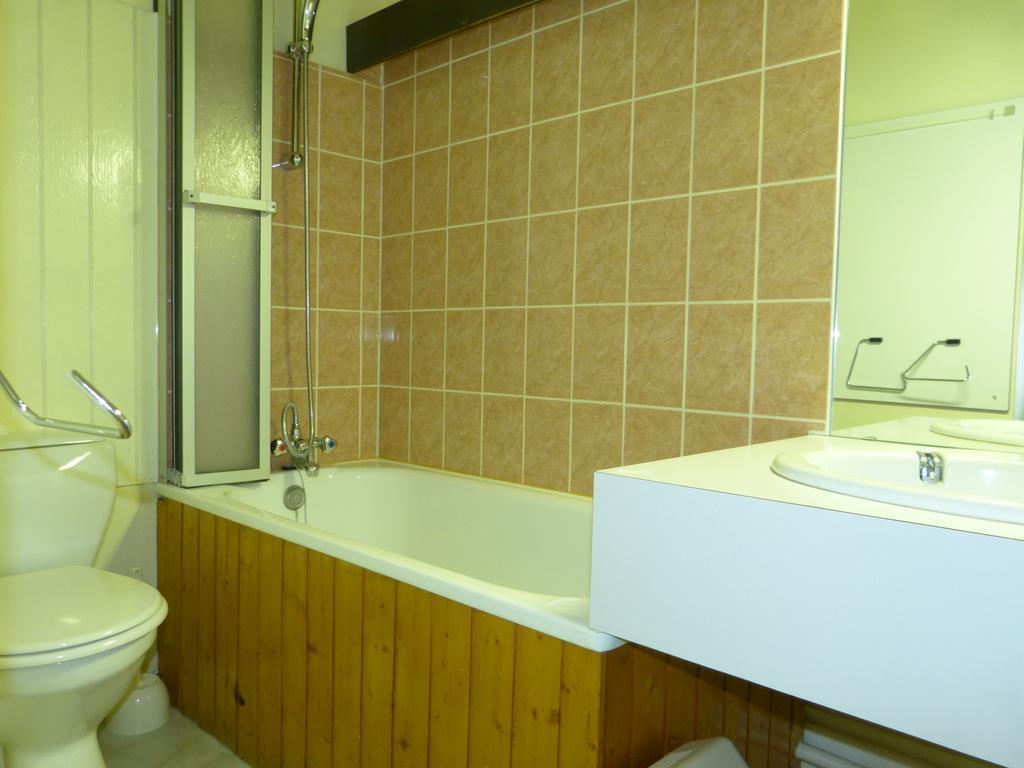 Location au ski Studio 4 personnes (I143) - Residence Aime 2000 - Le Diamant - La Plagne - Baignoire
