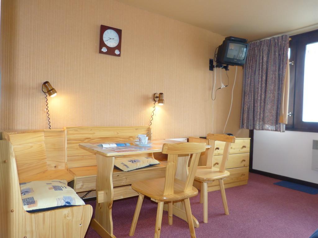 Location au ski Studio 4 personnes (I143) - Residence Aime 2000 - Le Diamant - La Plagne - Séjour