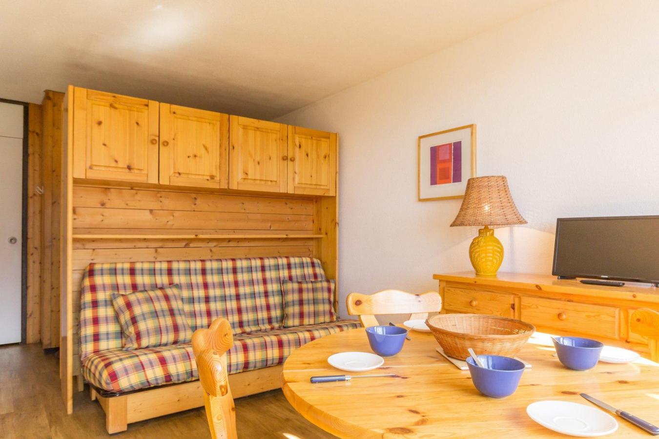 Location au ski Studio cabine 4 personnes (A2049) - Residence Aime 2000 - Le Diamant - La Plagne - Salle de bains