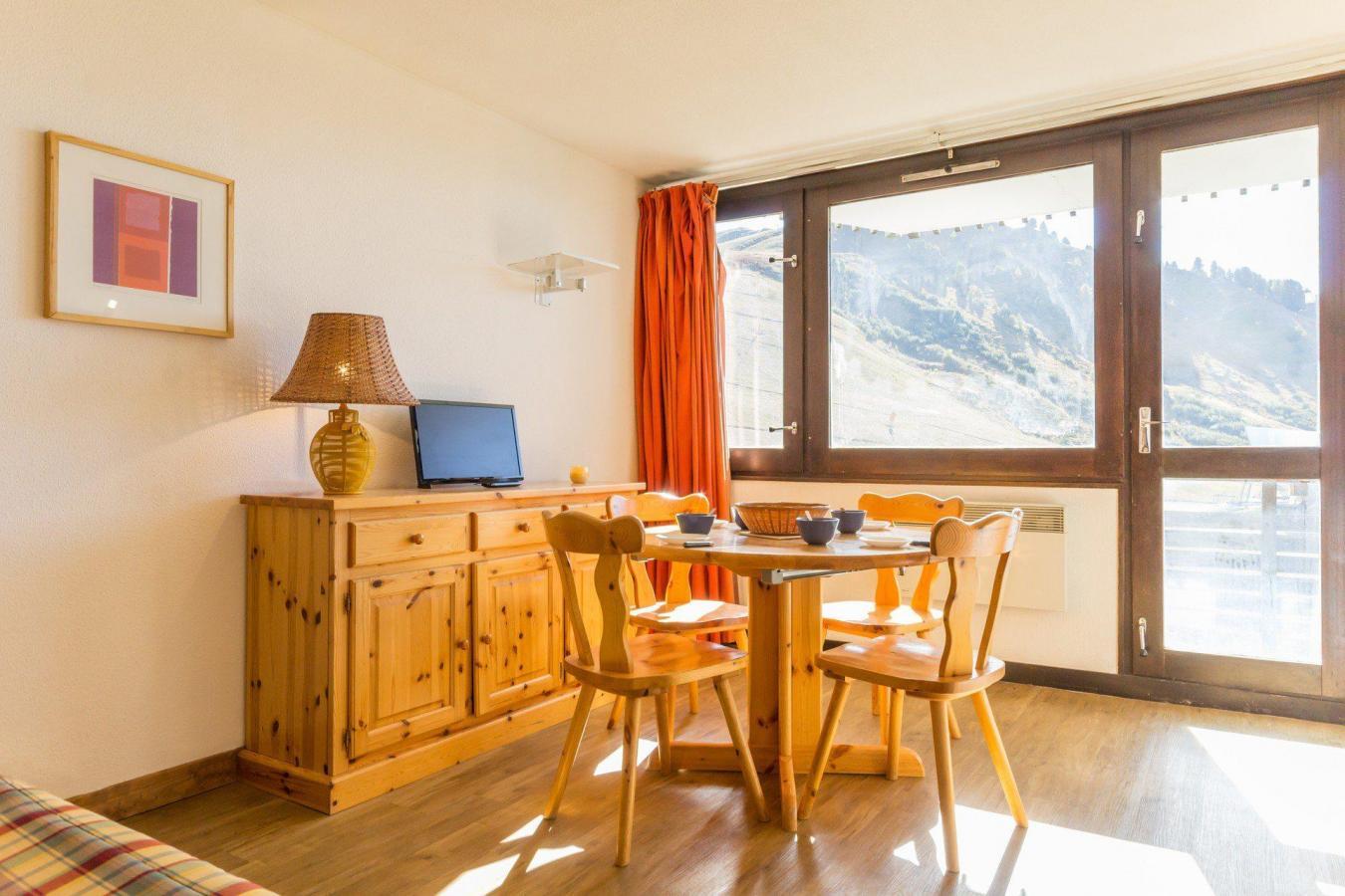 Location au ski Studio cabine 4 personnes (A2049) - Residence Aime 2000 - Le Diamant - La Plagne - Séjour