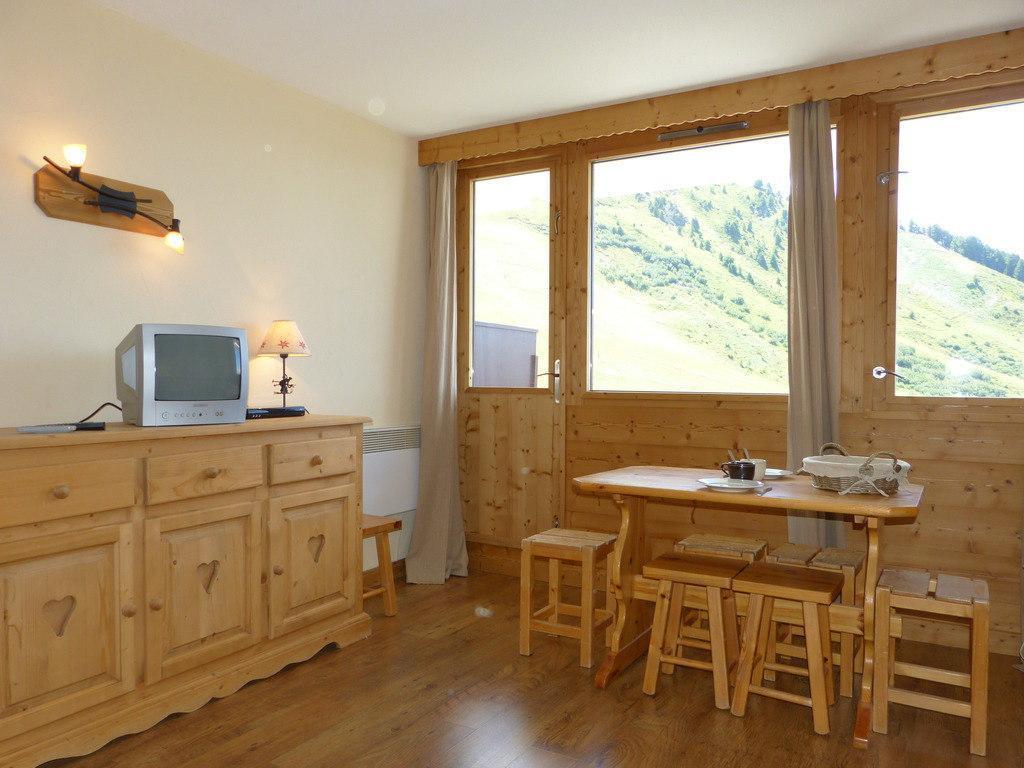 Location au ski Studio cabine 4 personnes (A2054) - Residence Aime 2000 - Le Diamant - La Plagne - Coin repas