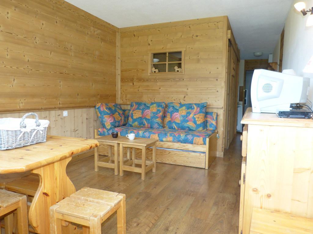 Location au ski Studio cabine 4 personnes (A2054) - Residence Aime 2000 - Le Diamant - La Plagne - Séjour