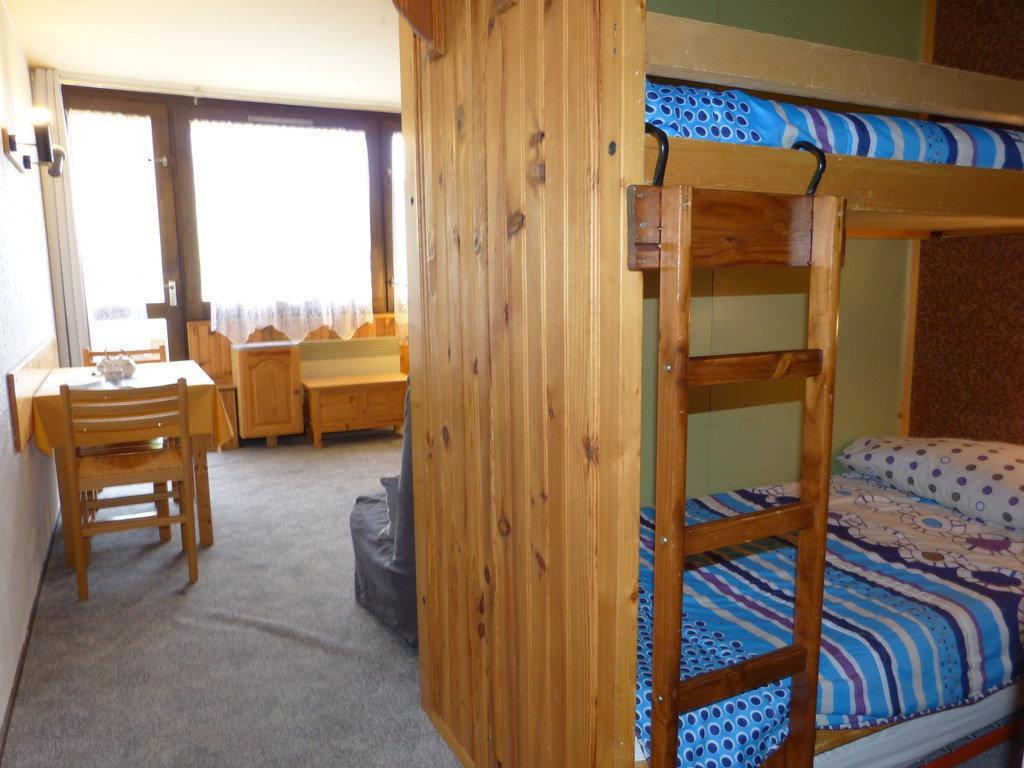 Location au ski Studio cabine 4 personnes (A2H50) - Residence Aime 2000 - Le Diamant - La Plagne - Cabine ouverte