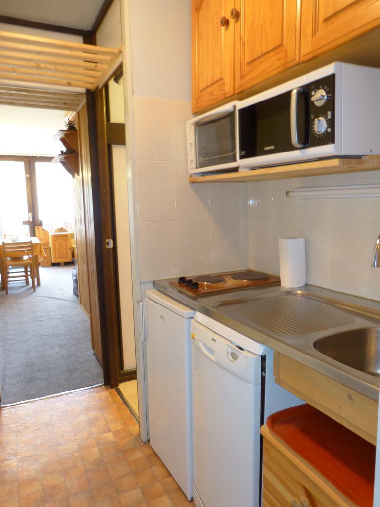 Location au ski Studio cabine 4 personnes (A2H50) - Residence Aime 2000 - Le Diamant - La Plagne - Kitchenette