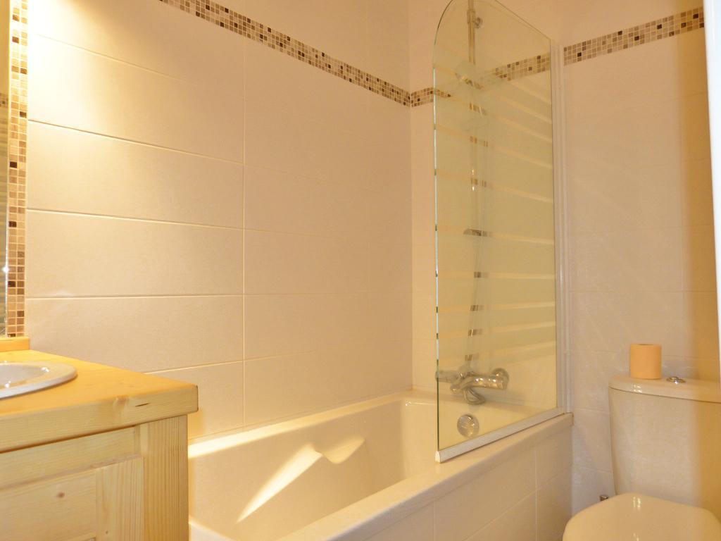 Location au ski Studio cabine 4 personnes (A2H53) - Residence Aime 2000 - Le Diamant - La Plagne - Baignoire