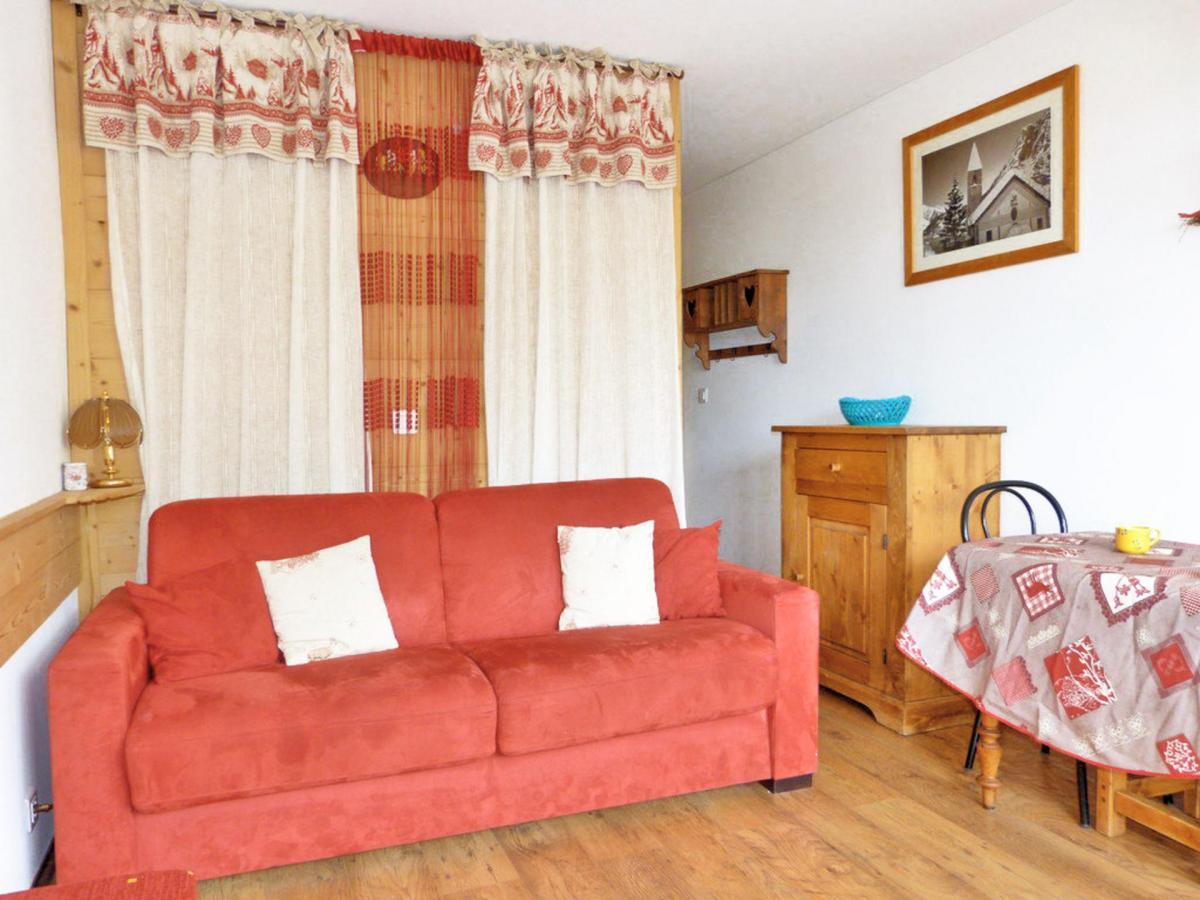 Location au ski Studio cabine 4 personnes (A2H53) - Residence Aime 2000 - Le Diamant - La Plagne - Canapé