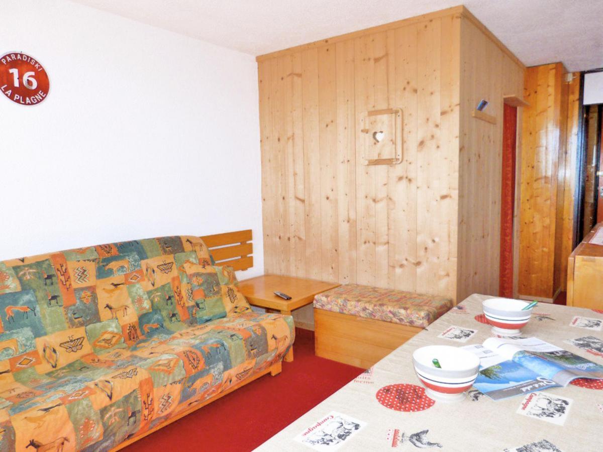 Location au ski Studio cabine 4 personnes (A2M156) - Residence Aime 2000 - Le Diamant - La Plagne - Séjour