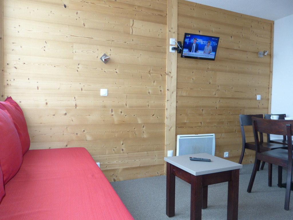 Location au ski Studio cabine 4 personnes (A2Q156) - Residence Aime 2000 - Le Diamant - La Plagne - Séjour