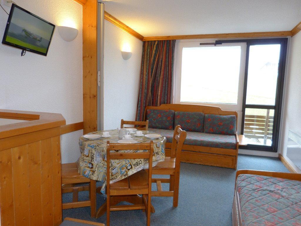 Location au ski Studio divisible 4 personnes (A2H55) - Residence Aime 2000 - Le Diamant - La Plagne - Banquette