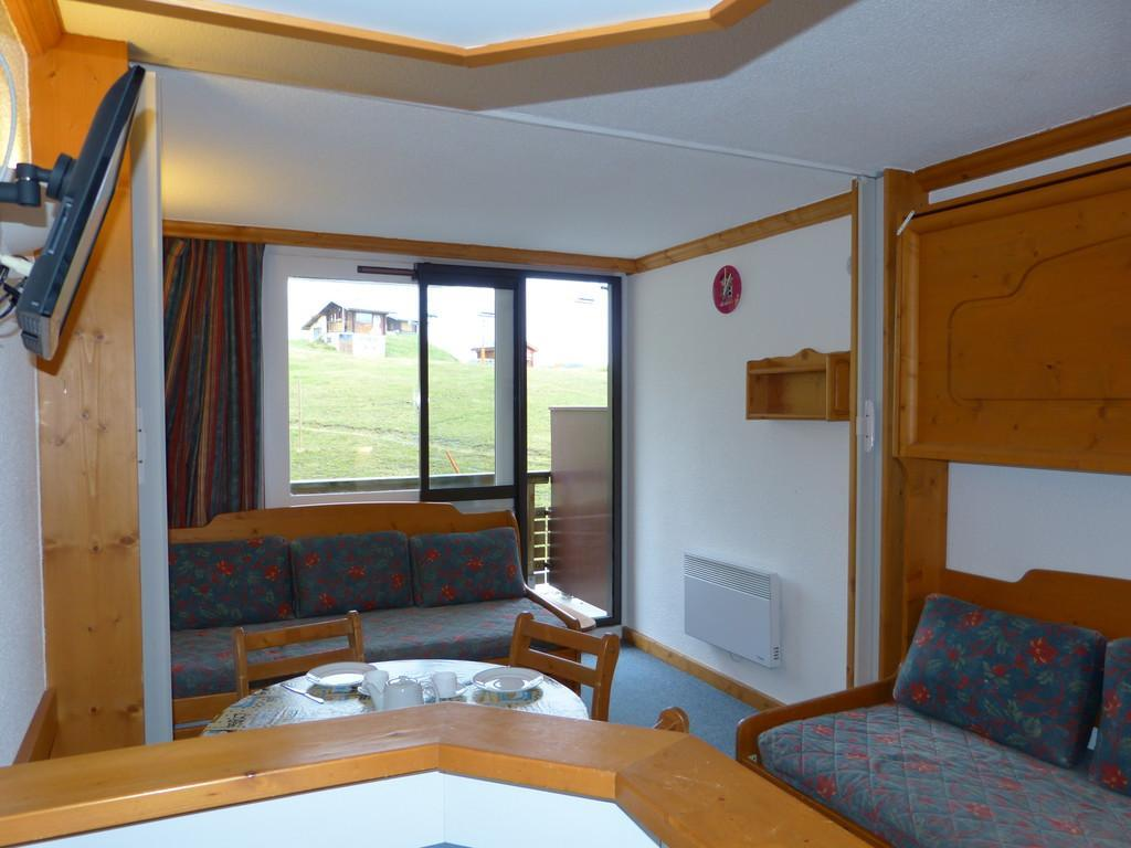 Location au ski Studio divisible 4 personnes (A2H55) - Residence Aime 2000 - Le Diamant - La Plagne - Séjour