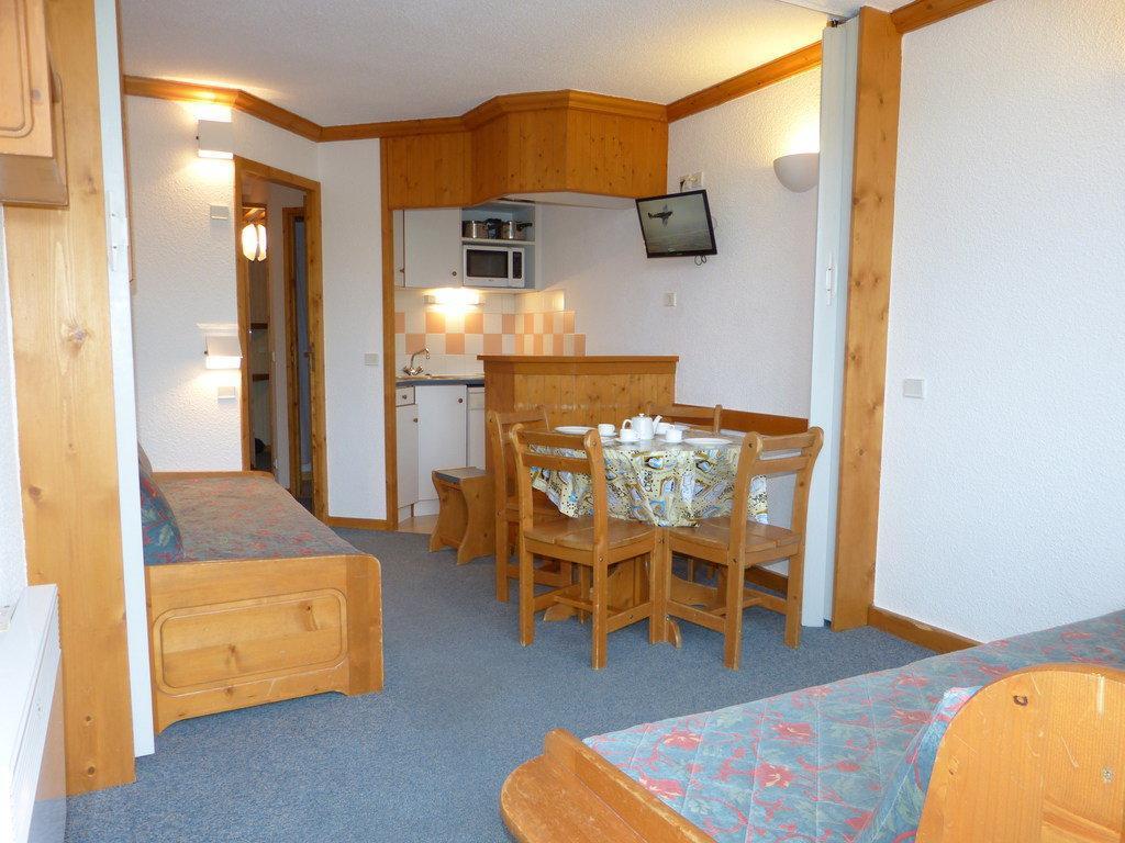 Location au ski Studio divisible 4 personnes (A2H55) - Residence Aime 2000 - Le Diamant - La Plagne - Table