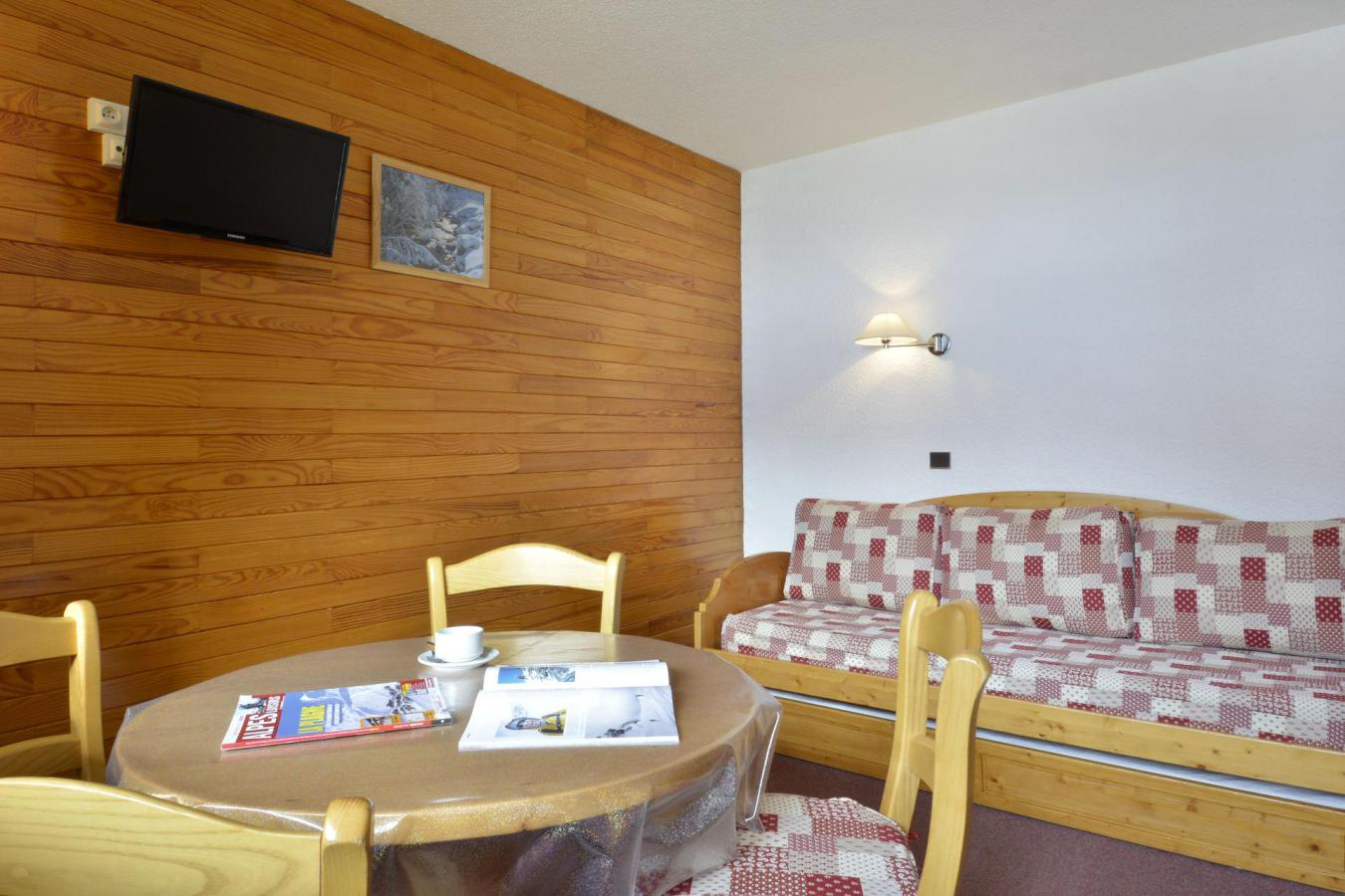 Location au ski Studio 4 personnes (12) - Residence Carroley B - La Plagne