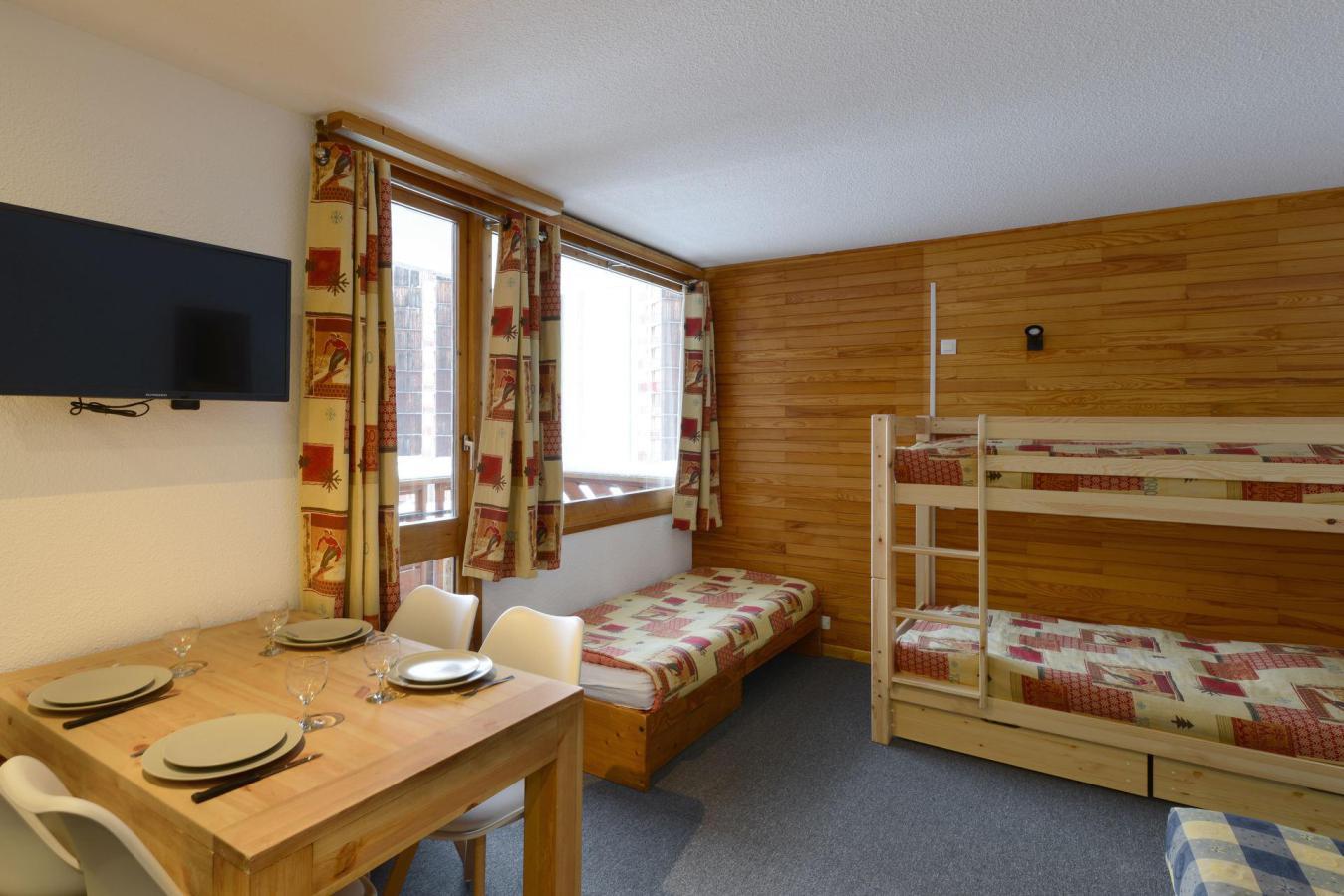 Location au ski Studio cabine 4 personnes (14) - Residence Carroley B - La Plagne - Baignoire