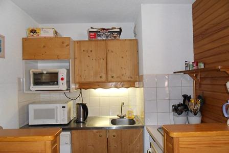 Location au ski Studio cabine 4 personnes (14) - Residence Carroley B - La Plagne - Kitchenette