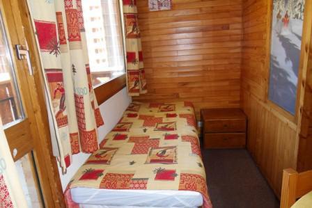 Location au ski Studio cabine 4 personnes (14) - Residence Carroley B - La Plagne - Lit simple
