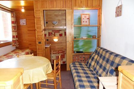 Location au ski Studio cabine 4 personnes (14) - Residence Carroley B - La Plagne - Séjour
