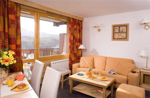 Location au ski Appartement 3-4 pièces 8 personnes - Residence Club Mmv Le Centaure - La Plagne - Table basse