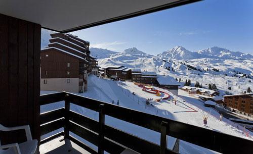 Location au ski Residence Club Mmv Le Centaure - La Plagne - Extérieur hiver