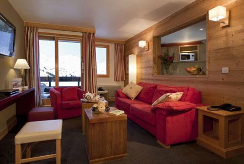 Location au ski Residence Club Mmv Le Centaure - La Plagne - Canapé