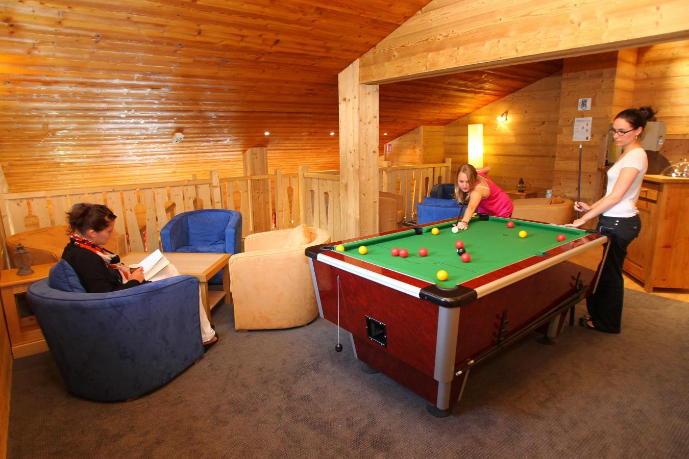 Location au ski Residence Club Mmv Le Centaure - La Plagne - Billard