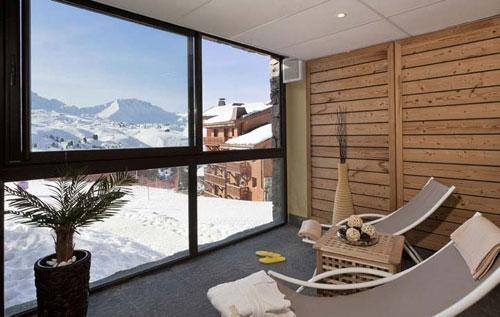 Location au ski Residence Club Mmv Le Centaure - La Plagne - Solarium