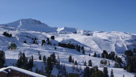 Location au ski Studio 4 personnes (1115) - Residence Croix Du Sud - La Plagne - Extérieur hiver