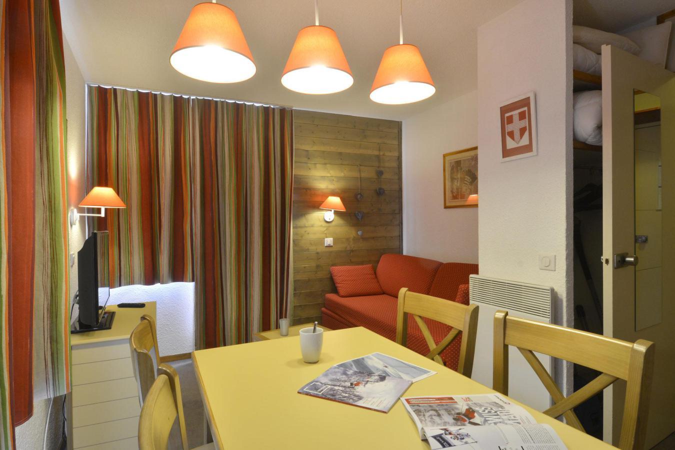 Location au ski Studio 4 personnes (101) - Residence Croix Du Sud - La Plagne - Extérieur hiver