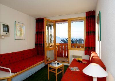 Location au ski Appartement 2 pièces 4-5 personnes - Residence La Licorne - La Plagne - Canapé