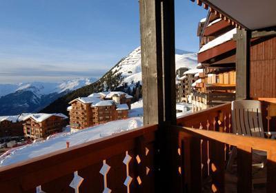 Location au ski Residence La Licorne - La Plagne - Extérieur hiver