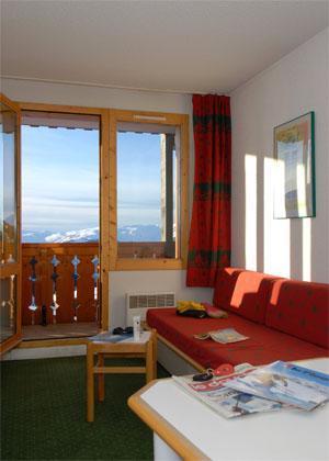 Location au ski Studio cabine 4 personnes - Residence La Licorne - La Plagne - Canapé