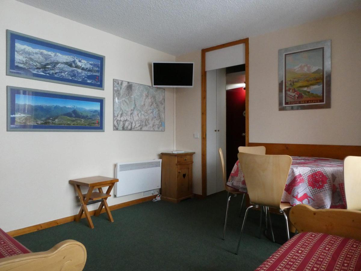 Location au ski Appartement 2 pièces 5 personnes (61) - Residence Le Carroley A - La Plagne - Coin repas