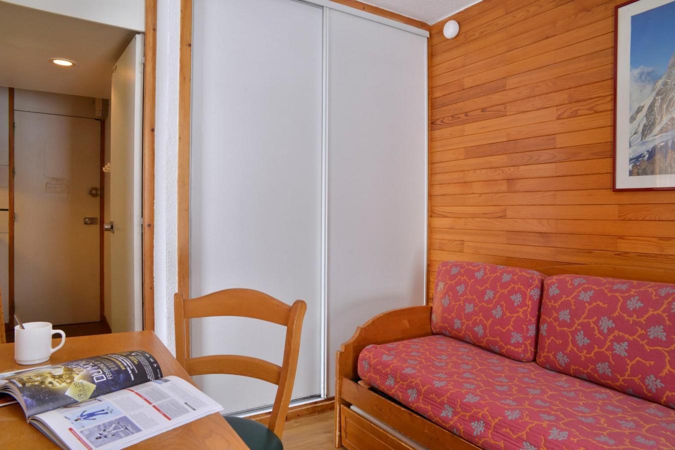 Location au ski Studio 2 personnes (64) - Residence Le Carroley A - La Plagne - Plan