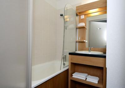Location au ski Residence Le Cervin - La Plagne - Salle de bains