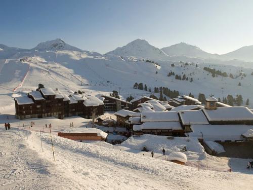 Location au ski Residence Pierre Et Vacances Les Gemeaux - La Plagne - Extérieur hiver