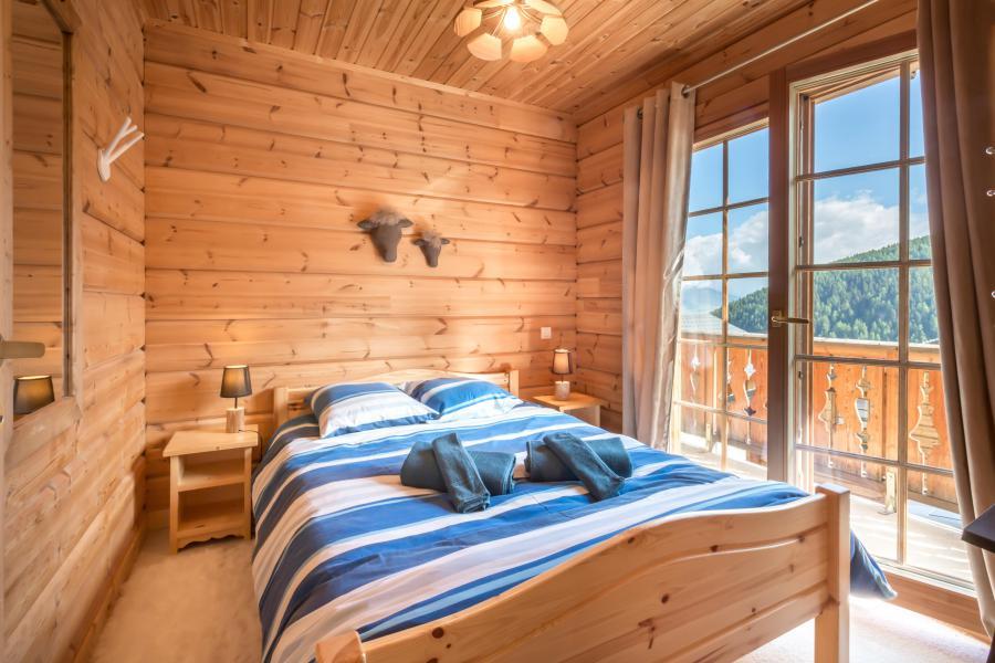 Location au ski Chalet 6 pièces 12 personnes (6AC) - Chalet du Hameau de Crête Côte - La Plagne - Chambre