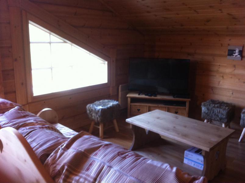 Location au ski Chalet 6 pièces 12 personnes (6AC) - Chalet du Hameau de Crête Côte - La Plagne - Coin séjour