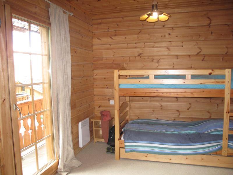 Location au ski Chalet 6 pièces 12 personnes (6AC) - Chalet du Hameau de Crête Côte - La Plagne - Lits superposés