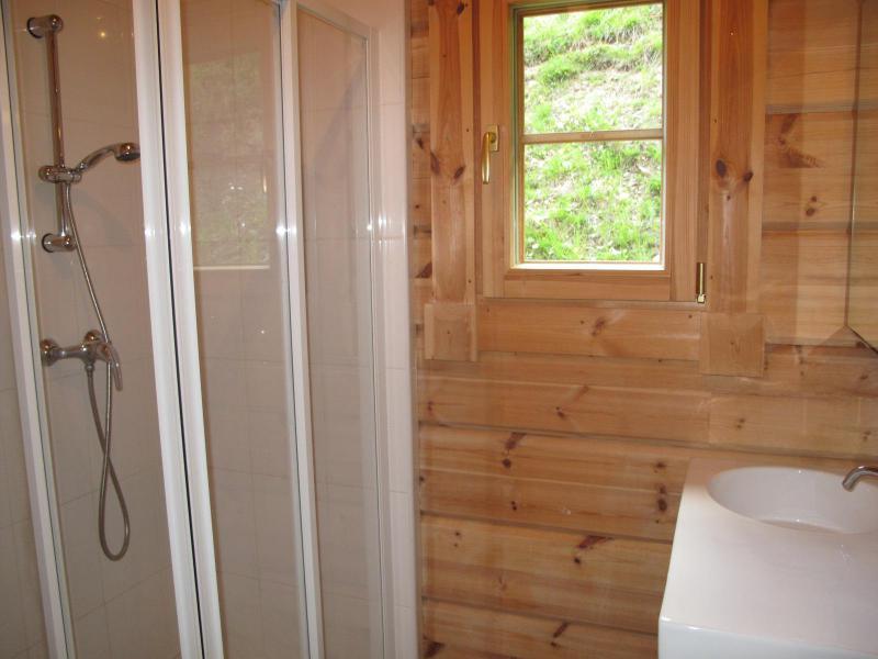 Location au ski Chalet 6 pièces 12 personnes (6AC) - Chalet du Hameau de Crête Côte - La Plagne - Salle d'eau