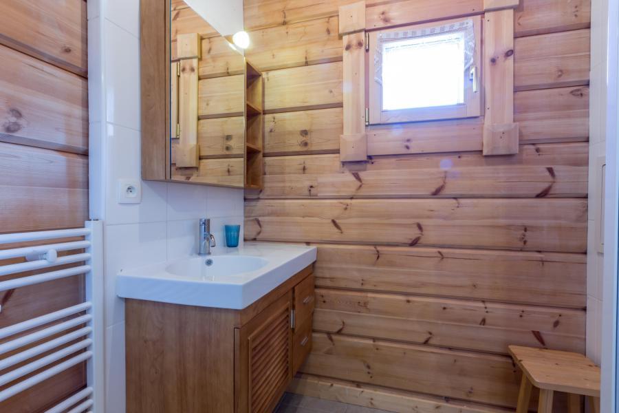 Location au ski Chalet 6 pièces 12 personnes (6AC) - Chalet du Hameau de Crête Côte - La Plagne - Salle de bains