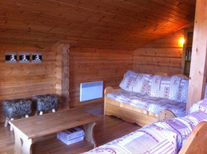 Location au ski Chalet 6 pièces 12 personnes (6AC) - Chalet du Hameau de Crête Côte - La Plagne - Séjour