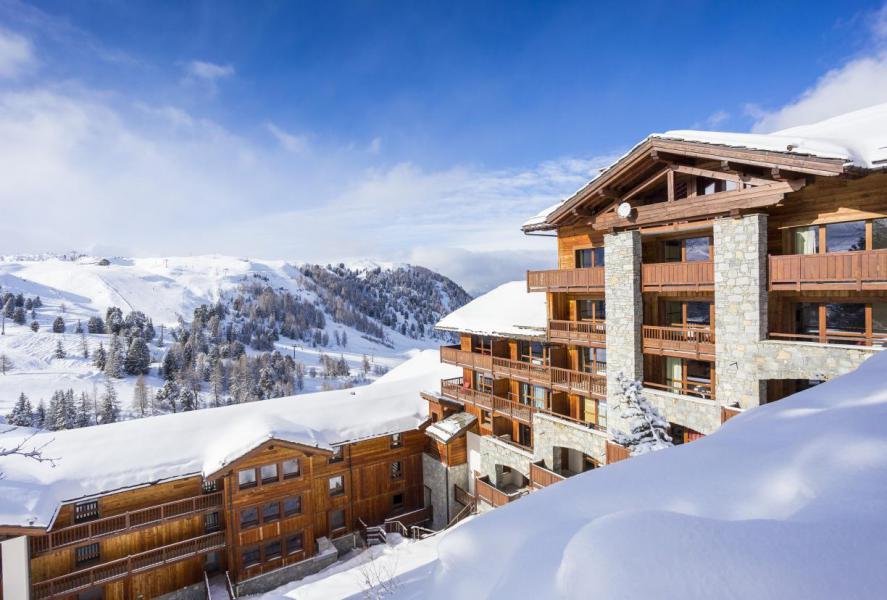 Location au ski Hôtel Club MMV Les 2 Domaines - La Plagne - Extérieur hiver