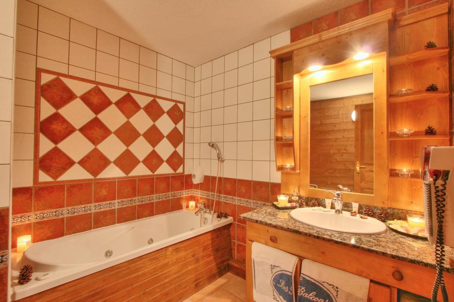 Alquiler al esquí Hôtel les Balcons Village - La Plagne - Cuarto de baño