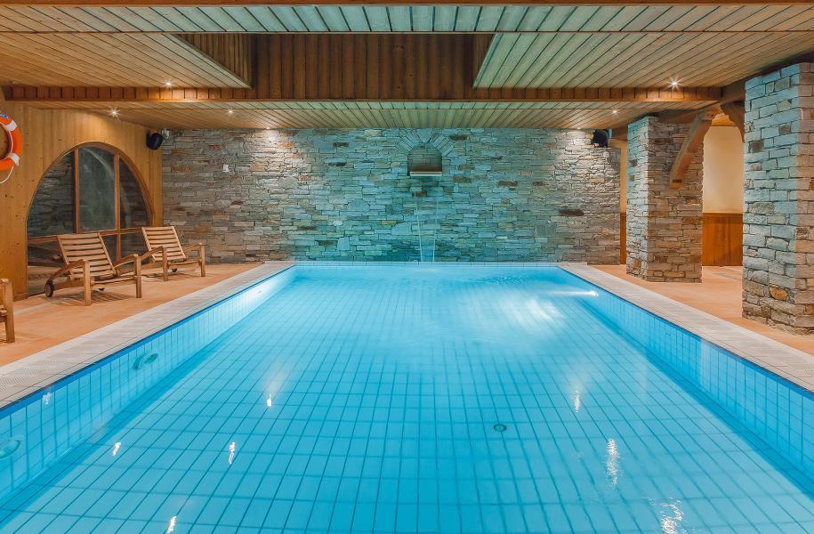 Location au ski Hôtel les Balcons Village - La Plagne - Piscine